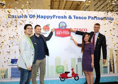 Happyfresh – Tesco Malaysia announces Online Partnership