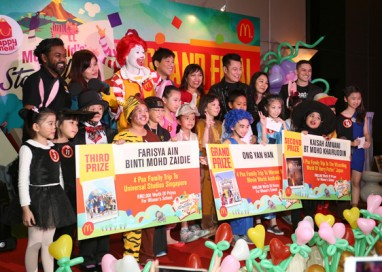 Young Talents bring down the House at McDonald's Storytelling Contest Finals