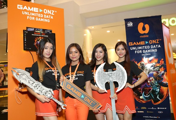 U Mobile unleashes Game-Onz offering 24/7 Unlimited Data for PC Gaming