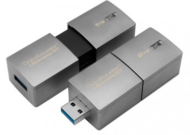 Kingston doubles Capacity for World's Largest USB Flash Drive