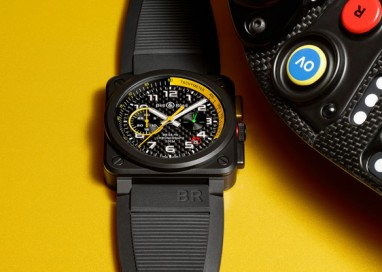 Bell & Ross revealed the new BR03 RS17 during RENAULT SPORT FORMULA ONE TEAM new R.S.17 car livery launch