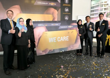 Chevrolet Malaysia introduces the Chevrolet Complete Care Programme