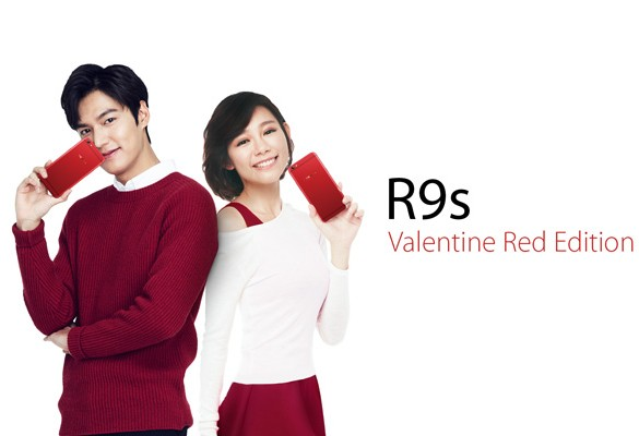 Grab the limited OPPO R9s Valentine Red Edition at RM1,798 to capture your loveliest moment