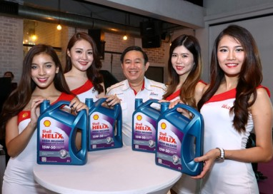 Shell Malaysia launches New 'Anti-Ageing' Oil for High Mileage Vehicles