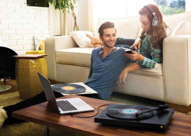 Let your vinyl sing with Sony's new premium turntable