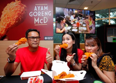 McDonald's celebrates Malaysians' Love for Ayam Goreng McD at its largest Facebook Live Unboxing Event in Malaysia