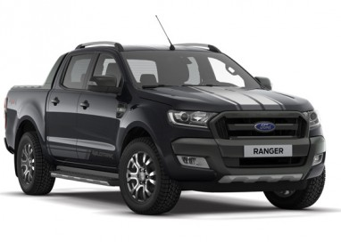 Ford Ranger WildTrak in limited-edition new Jet Black colour