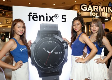 Garmin unleashes its Brand New fēnix 5 Series
