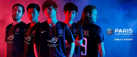 ASUS Republic of Gamers announces Sponsorship of PSG eSports