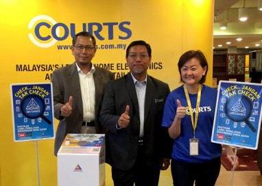 Courts Malaysia takes care of electronic devices from start-to-end