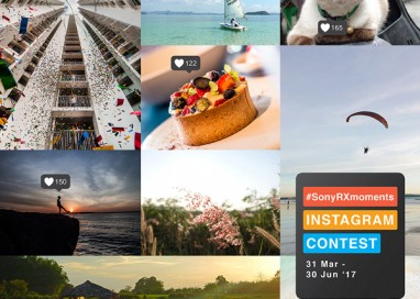 Sony announces the #SonyRXMoments Instagram Photo Contest across South East Asia
