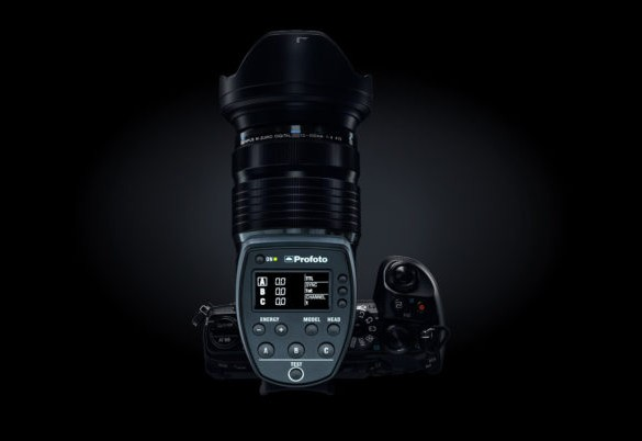 Olympus release firmware updates for OM-D E-M1 Mark II, E-M5 Mark II and PEN-F to work with the new Profoto Air Remote TTL