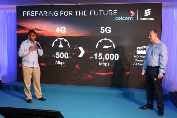 Celcom teams up with Ericsson to deliver Malaysia's First 5G