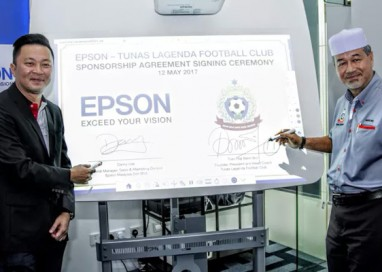 Epson Malaysia nurtures Young Football Talent with Sponsorship of Tunas Lagenda Football Club
