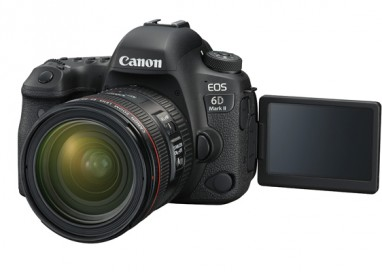 Canon reveals the highly anticipated EOS 6D Mark II