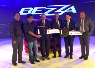 The Perodua Bezza makes debut in Sri Lanka