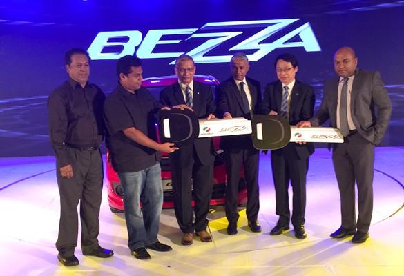 The Perodua Bezza makes debut in Sri Lanka