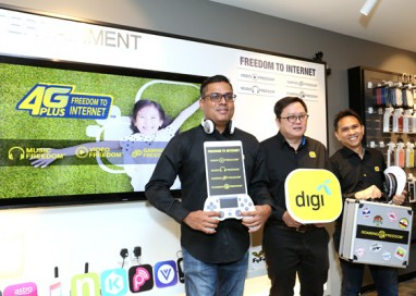 Digi's Freedom to Internet Brings a New Sense of Freedom with More Value, Convenience and Exciting Digital Service Offerings for Customers