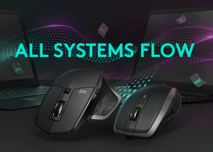 Logitech takes Multi-Computer Functionality to the Next Level with New MX Mice and Flow