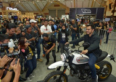 Ducati Scrambler launches Two New Variants at Art Of Speed 2017