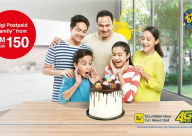 Digi challenges Industry Norm with Game-Changing Postpaid Family Plan