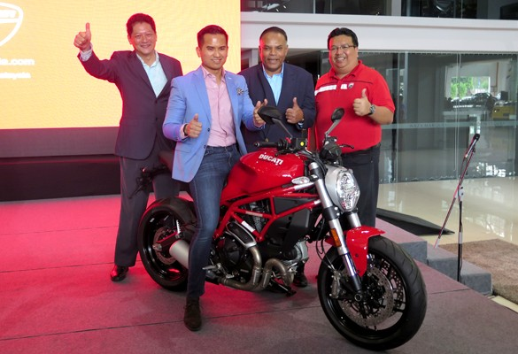 Next Bike launches Two New Entry Level Ducati Variants at NAZA Merdeka Autofair 2017