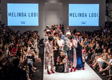 Iconic Malaysian Designer Melinda Looi showcases Epson Digital Textile Printing for KL Fashion Week 2017