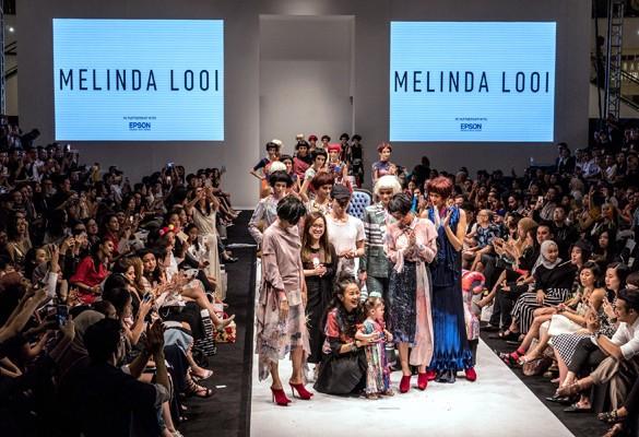 Iconic Malaysian Designer Melinda Looi showcases Epson Digital Textile Printing for KL Fashion Week 2017