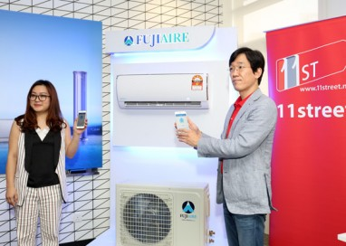 Fujiaire reveals its first WiFi-enabled air-conditioner on 11street