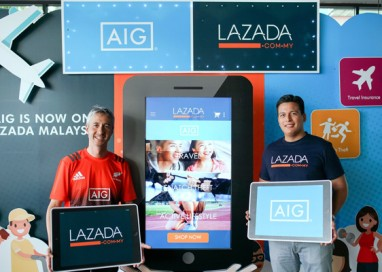 Lazada Malaysia partners with AIG Malaysia to be the First to launch Affordable Insurance Online