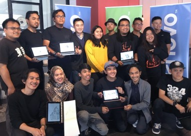 Lenovo demonstrates Yoga Book's power for creatives through a Hands-on Workshop co-hosted with KL SketchNation