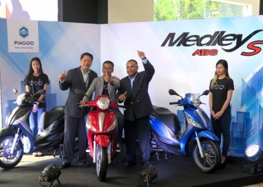 Naza Premira introduces Piaggio Medley S 150 ABS