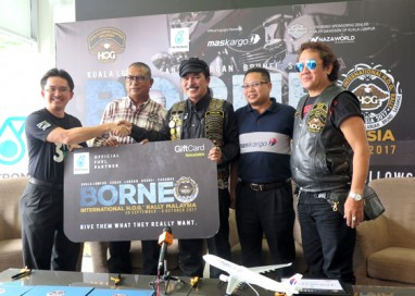 H.O.G partners with Petronas and MAS Cargo for Borneo International H.O.G. Rally Malaysia 2017