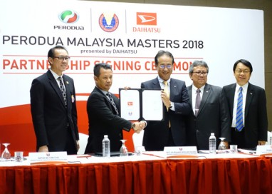 Daihatsu to sponsor BWF tournaments in Indonesia and Malaysia