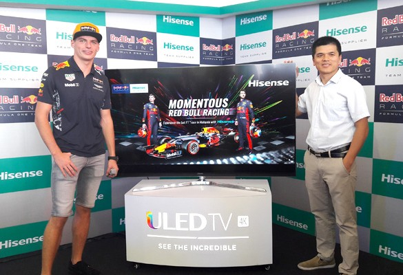 Hisense Malaysia brings HD Thrills to Malaysian GP F1NALE with Max Verstappen