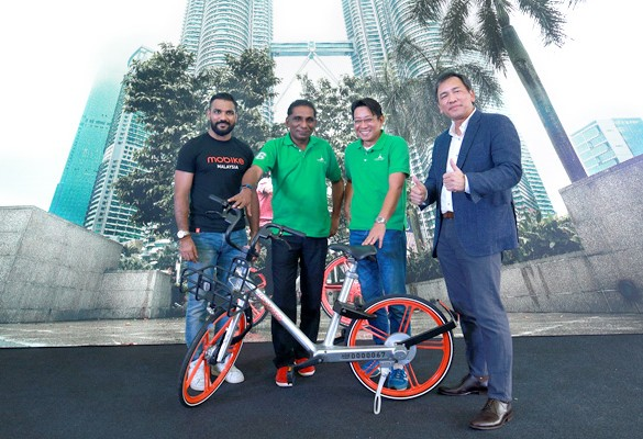 Mobike enters Cyberjaya in Partnership with Cyberview and Mastercard