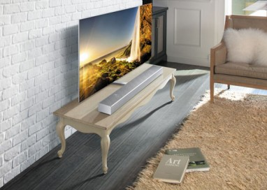 Make Life Cinematic with Soundbar Sound+ and 4K Ultra HD Blu-ray Player
