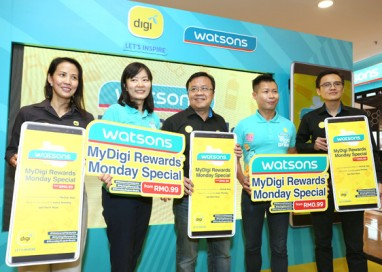 Watsons & MyDigi rewards Customers wth Exclusive Super Savings