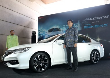 Honda Malaysia introduces Accord with Honda SENSING
