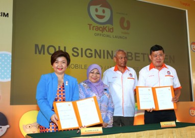 Knightsbridge Resources partners with U Mobile to launch TraqKid – Malaysia's First Mobile-Based Child Tracking Kit
