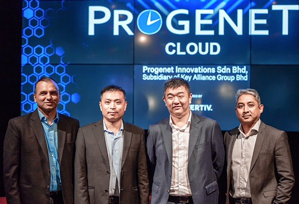 Key Alliance Group and Vertiv launch Progenet Cloud