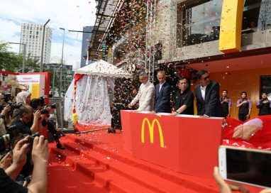 McDonald's Malaysia showcases New Design and Enhanced Customer Experience at Bukit Bintang Restaurant