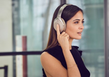 Truly Wireless and Behind-the-Neck Headphones join the Industry-Leading Noise Cancelling 1000X Sony Family