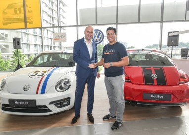 Volkswagen and Lazada Create History with Online-Exclusive Limited Edition Beetles