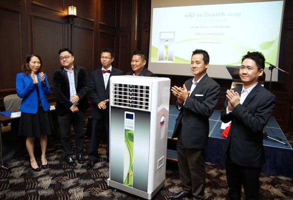 WKL Eco Earth launches e-Cond – The World's First Eco-Friendly Air-Conditioning System with Heat Emission Control System