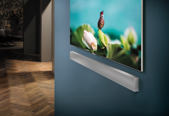 Samsung unveils Wall-Mountable Lifestyle Soundbar at CES 2018