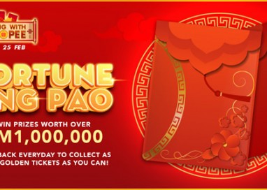 'Wang with Shopee' gives out Fortune Ang Pao with Prizes worth more than RM1 Million this Chinese New Year