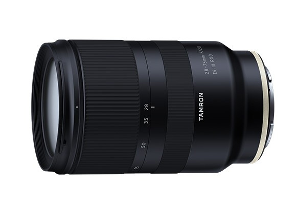 Tamron announces the development of Sony E Mount 28-75mm F/2.8 Di III RXD