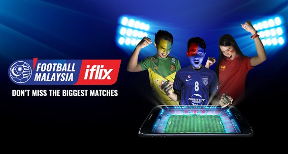 Football Malaysia on iflix is the Home of Malaysian Football