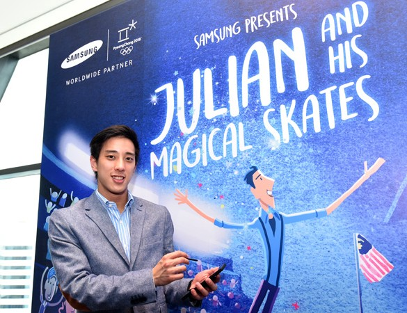 "Samsung showcases Do What You Can't in Feature Film, ""Julian and His Magical Skates"""